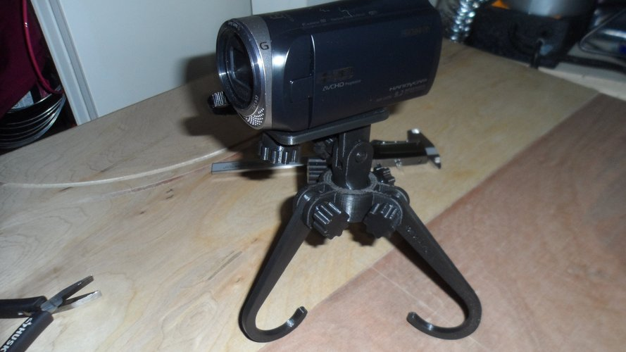 Multi use Tripod for Cameras, Tools, Phones and More 3D Print 42336