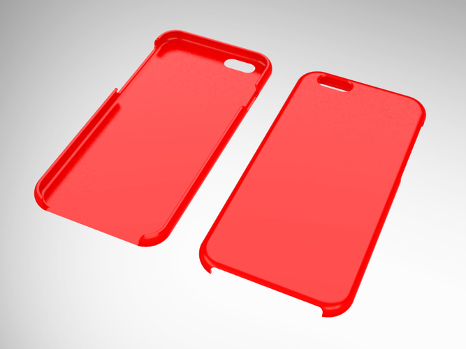 iPhone 6 slim case (blank) 3D Print 42434