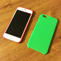 Small iPhone 6 slim case (blank) 3D Printing 42447