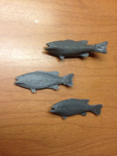Little Fish  3D Print 42448
