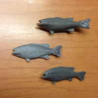 Small Little Fish  3D Printing 42448