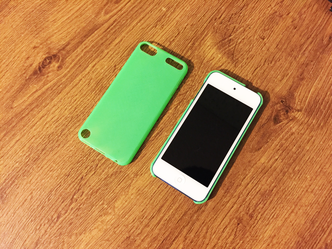 iPod Touch 5 & 6 slim case (blank) 3D Print 42451