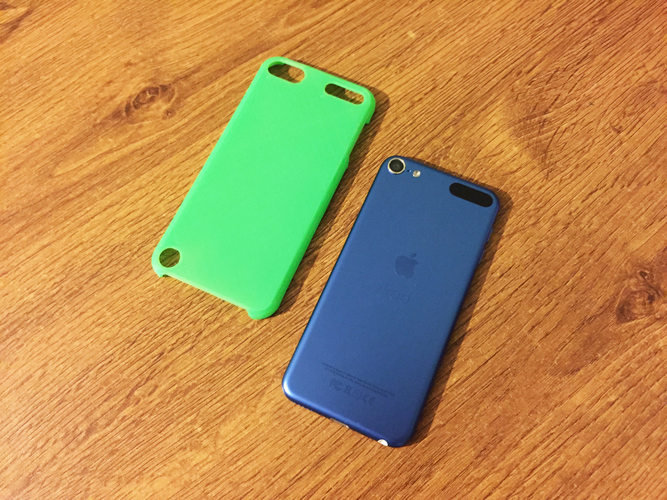 iPod Touch 5 & 6 slim case (blank) 3D Print 42452