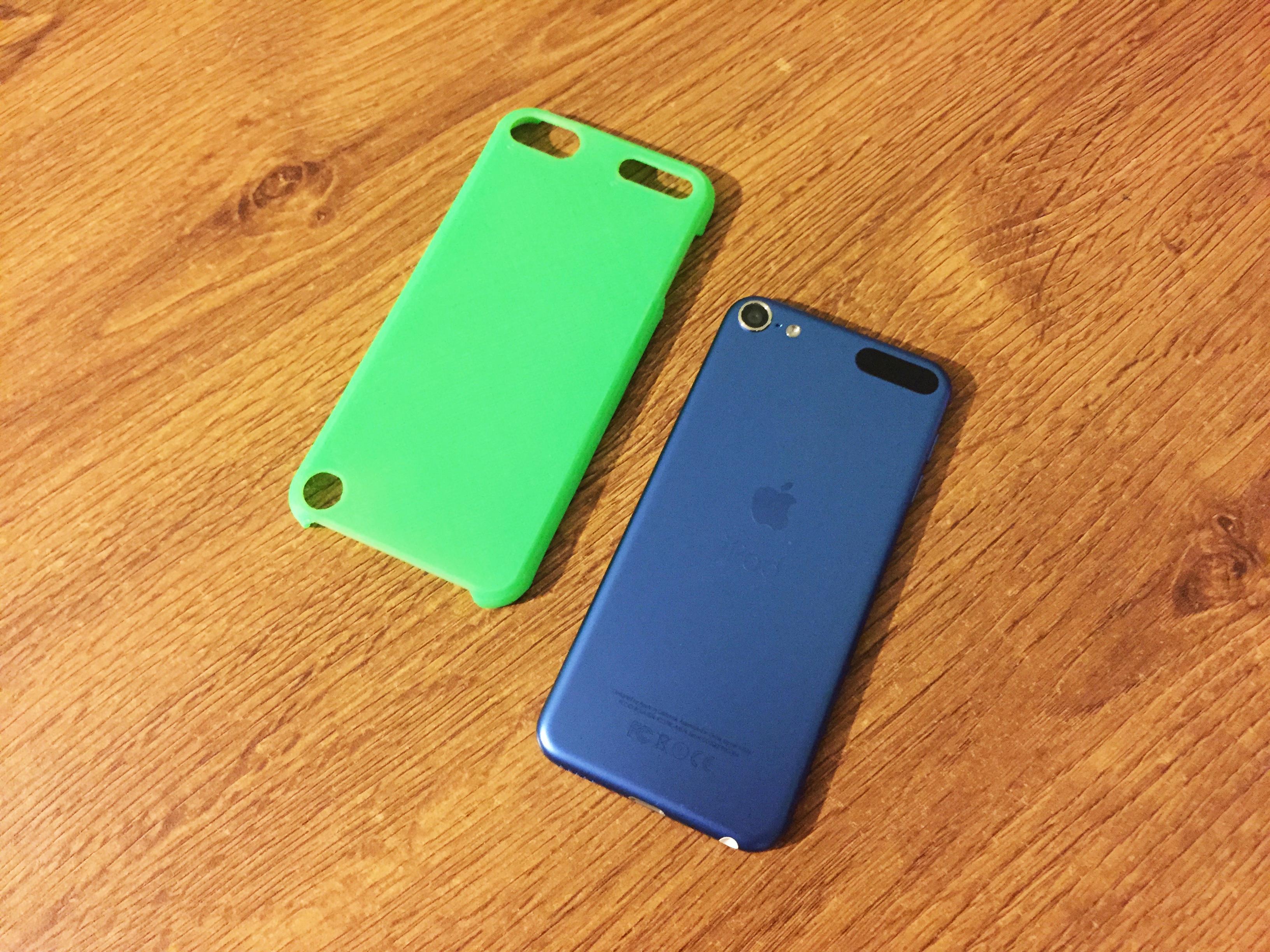 best service 83d9f a340b iPod Touch 5 & 6 slim case (blank) @ Pinshape