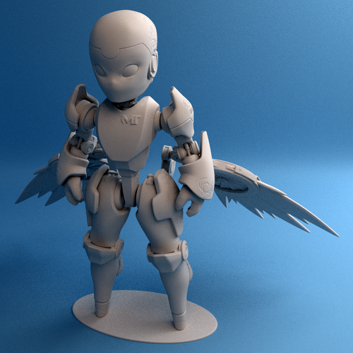 Valkyrie Reckon model 3D Print 42514