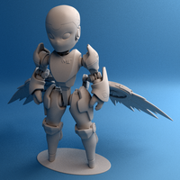 Small Valkyrie Reckon model 3D Printing 42514