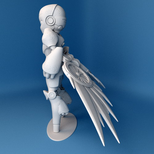 Valkyrie Reckon model 3D Print 42518