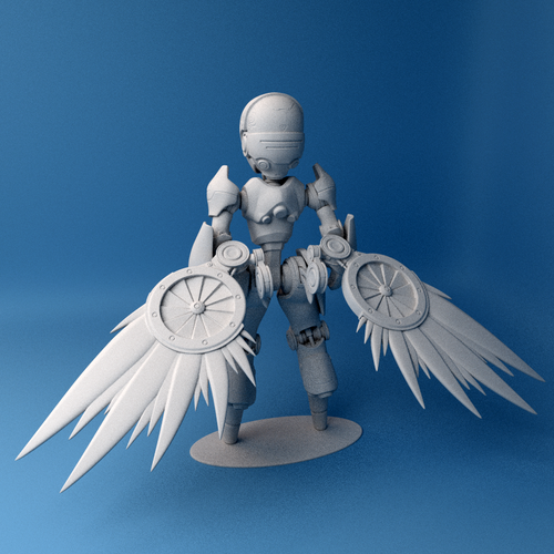 Valkyrie Reckon model 3D Print 42522