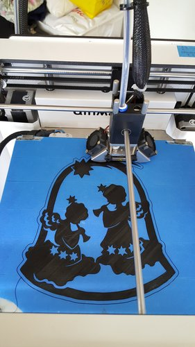 Angels in Bell 3D Print 42701