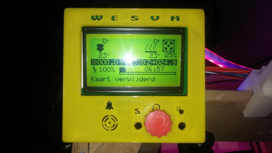 LCD1286CASE WESVH 3D Print 42726