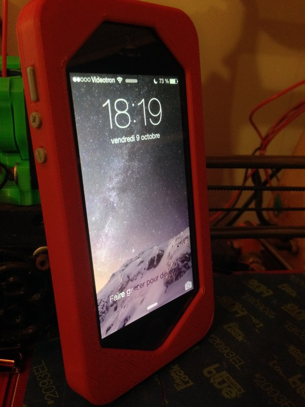 Medium iPhone 5/5S case 3D Printing 42775