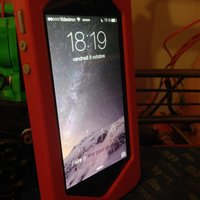 Small iPhone 5/5S case 3D Printing 42775