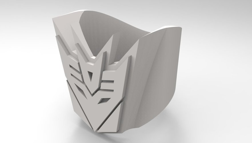 Decepticon Ring - US size #9 3D Print 42828