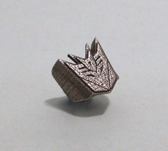 Decepticon Ring - US size #9 3D Print 42829