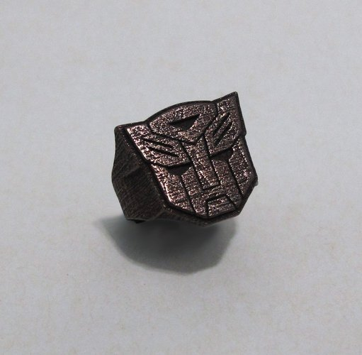 Autobot ring - US size #6 3D Print 42831