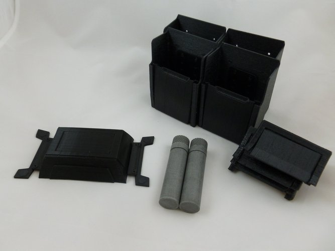 Bat Belt Cylinder - Dawn Of Justice 3D Print 42861