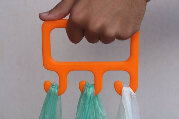 Medium Bag Holder 3D Printing 42877
