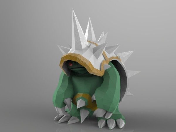 Medium the new Rammus – the Armordillo 3D Printing 42910