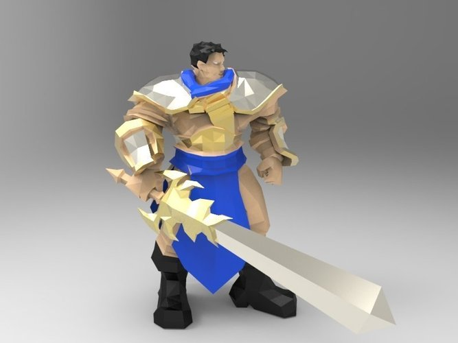 Garen The Might of Demacia 3D Print 42923