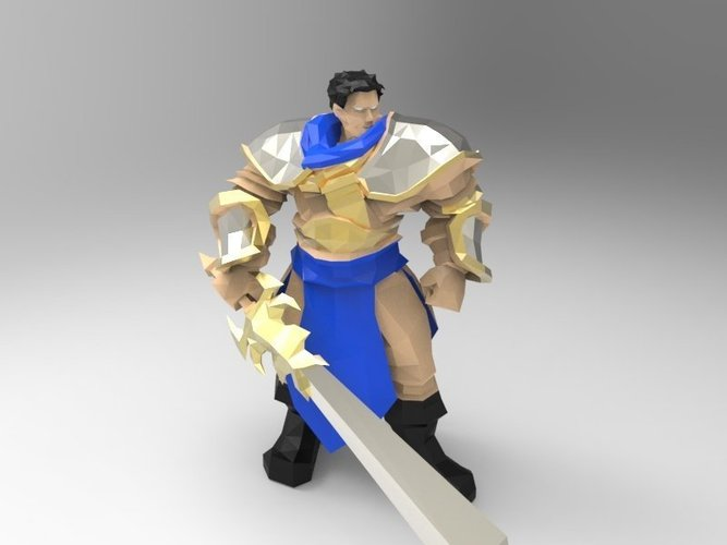 Garen The Might of Demacia 3D Print 42924