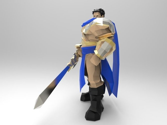 Garen The Might of Demacia 3D Print 42925