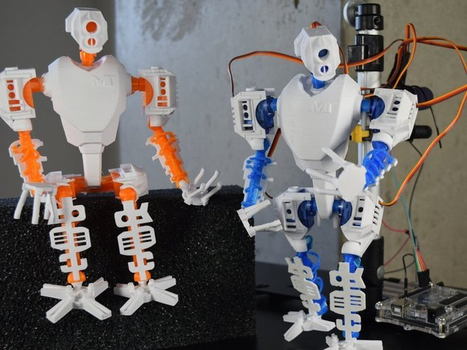 MT-20 : Animated Hybrid Robot 3D Print 42976