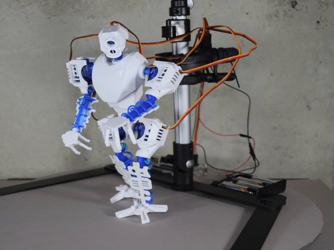 MT-20 : Animated Hybrid Robot 3D Print 42977