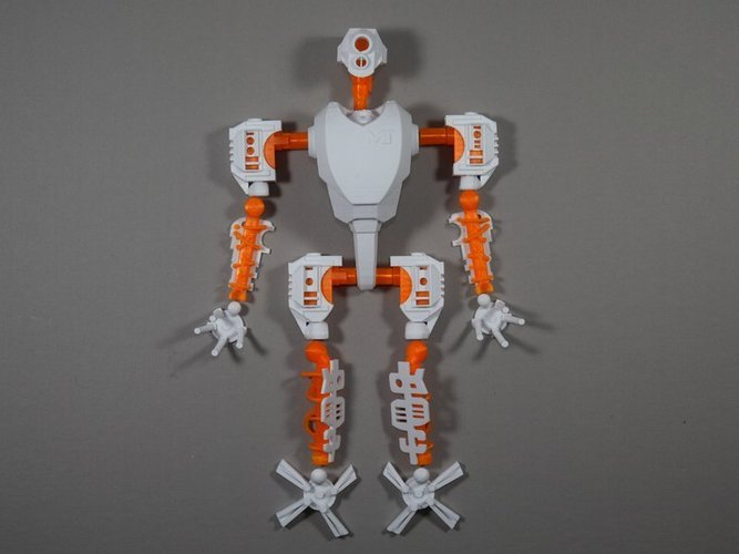 MT-20 : Animated Hybrid Robot 3D Print 42978
