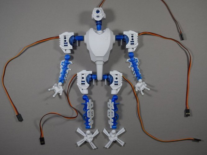 MT-20 : Animated Hybrid Robot 3D Print 42979
