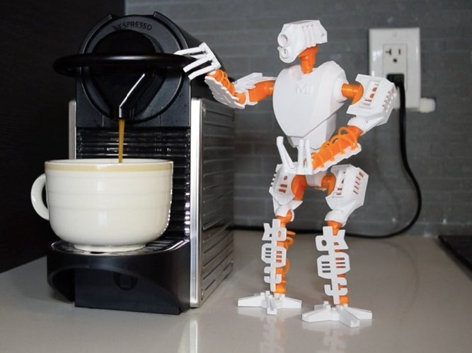 MT-20 : Animated Hybrid Robot 3D Print 42984