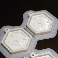 Small Ingress - Logo Keychain 3D Printing 43016