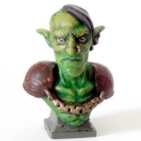 Small Goblin bust 3D Printing 43178