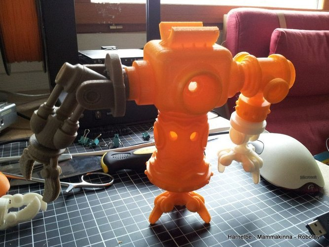 Robot Toy Project 3D Print 43350