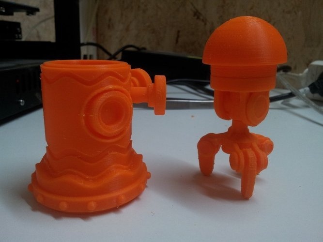 Robot Toy Project 3D Print 43356