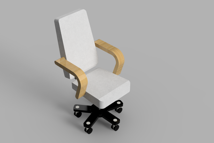 Resinsoul BJD Doll Chair 3D Print 43361