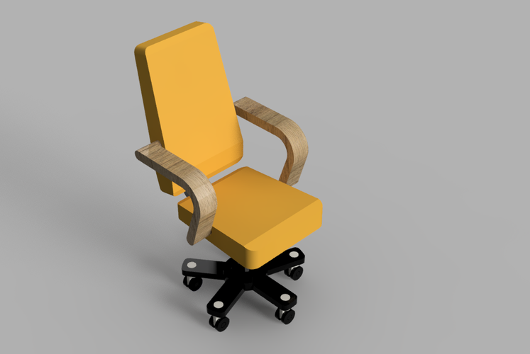 Resinsoul BJD Doll Chair 3D Print 43363
