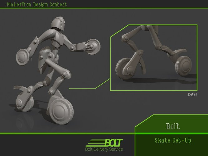 Bolt Delivery Service 3D Print 43423