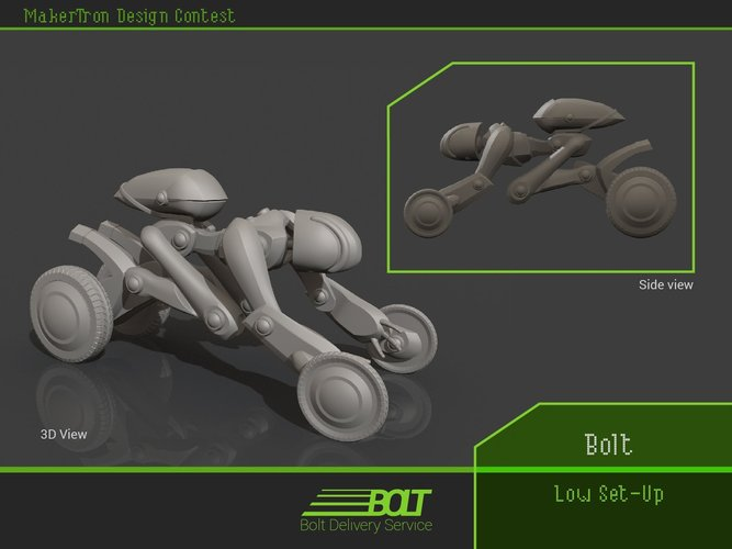 Bolt Delivery Service 3D Print 43424