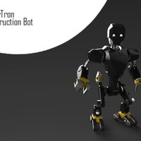 Small MakerTron : Construction Bot 3D Printing 43425