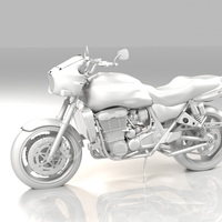 Small Motorcycle 3D Printing 4346
