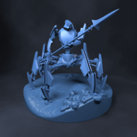 Small SpiderTron 3D Printing 43520