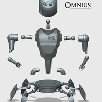 Small MakerTron OMNIUS 3D Printing 43567