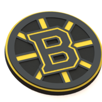 Small Boston Bruins logo 3D Printing 43620