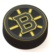 Small Boston Bruins logo on hockey puck 3D Printing 43622