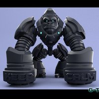 Small G-Tron (Maker Tron Contest ) 3D Printing 43644
