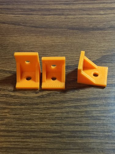 90 Degree Corner Brackets 3D Print 43757