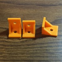 Small 90 Degree Corner Brackets 3D Printing 43757