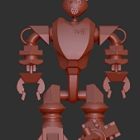 Small WorkerBot T.I.M. 3D Printing 43898