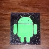 Small Android Logo 3D Printing 44260
