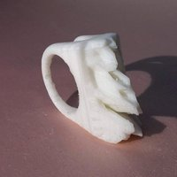 Small Iceberg Ring 3D Printing 44298